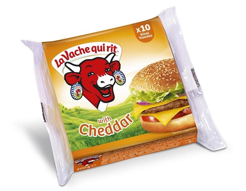 Τυρί Cheddar σε φέτες -0,15 € La vache qui rit (200 g)