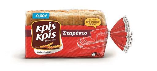 Ψωμί του τοστ Σταρένιο Κρις Κρις (350 g)