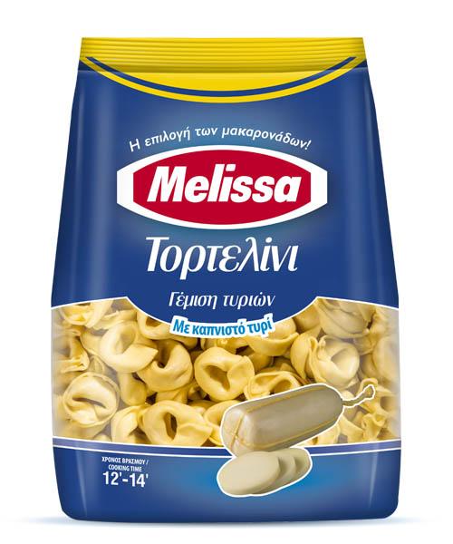 Τορτελίνι με Καπνιστό Τυρί Melissa (250 g)