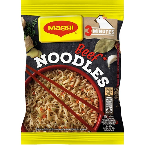 Noodles με γεύση Βοδινού Maggi (59,2 g)