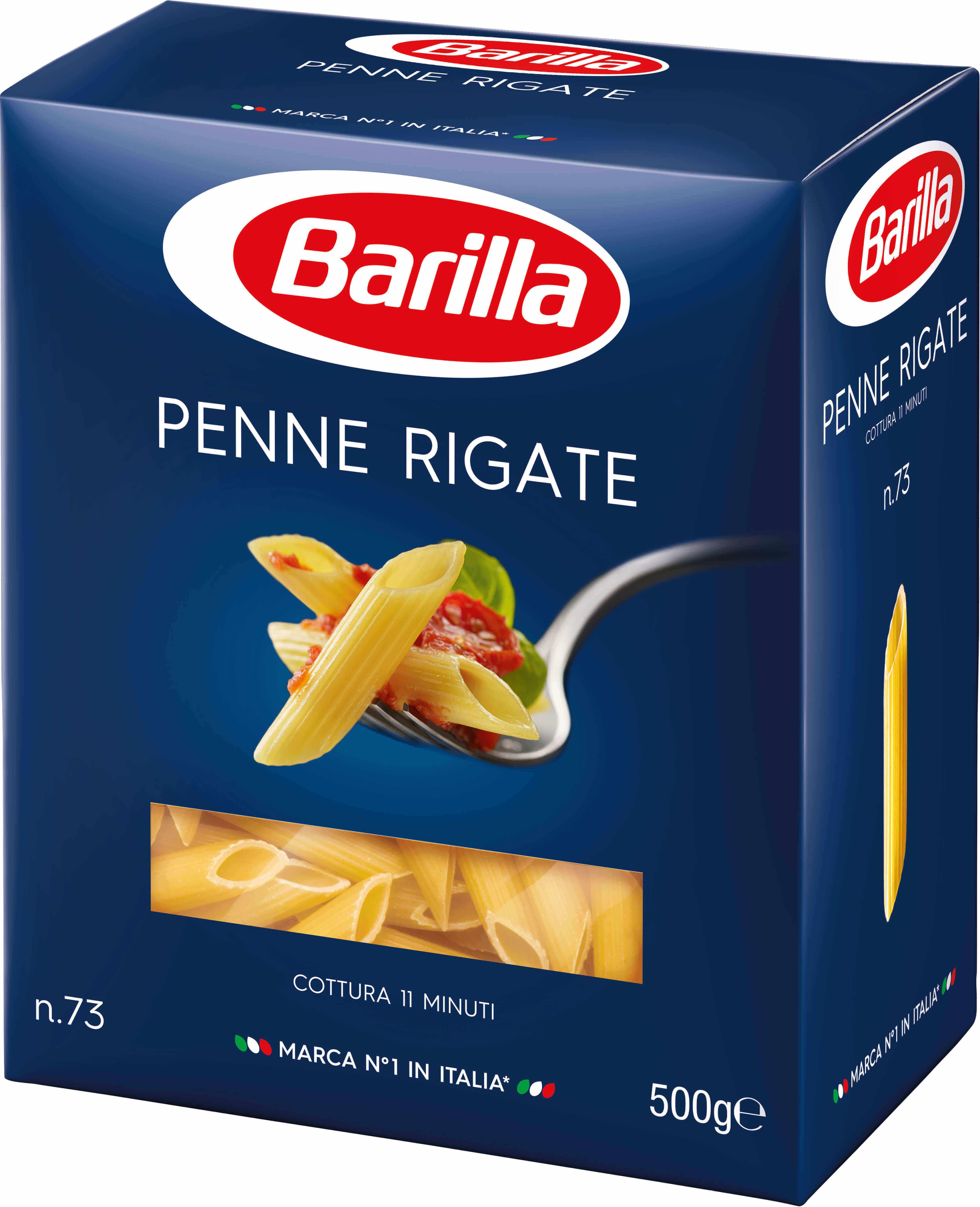 Penne Rigate Barilla (2x500g) τα 2τεμ -0,50€