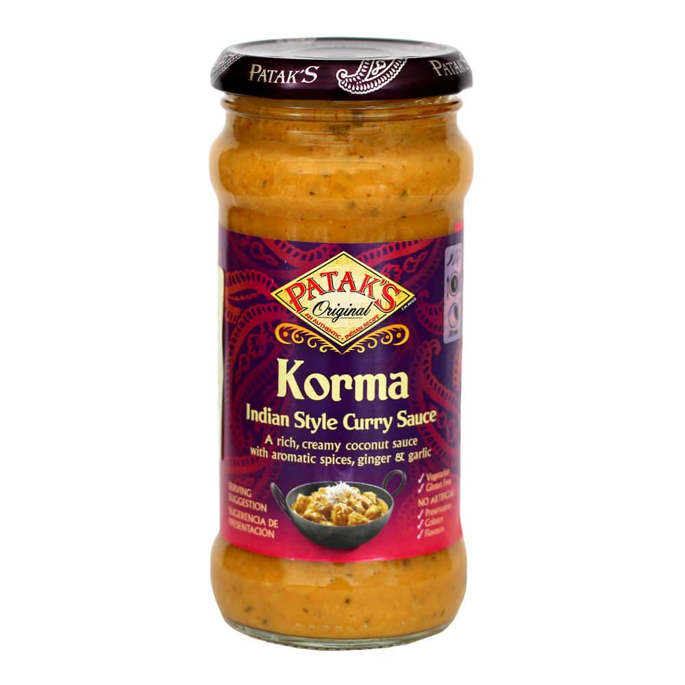 Σάλτσα με Κρέμα Καρύδας Korma Patak's Original (350g)