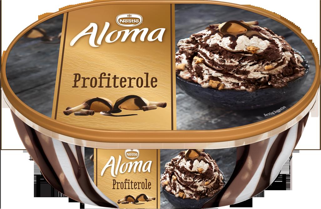 Παγωτό Προφιτερόλ Aloma (900 ml)