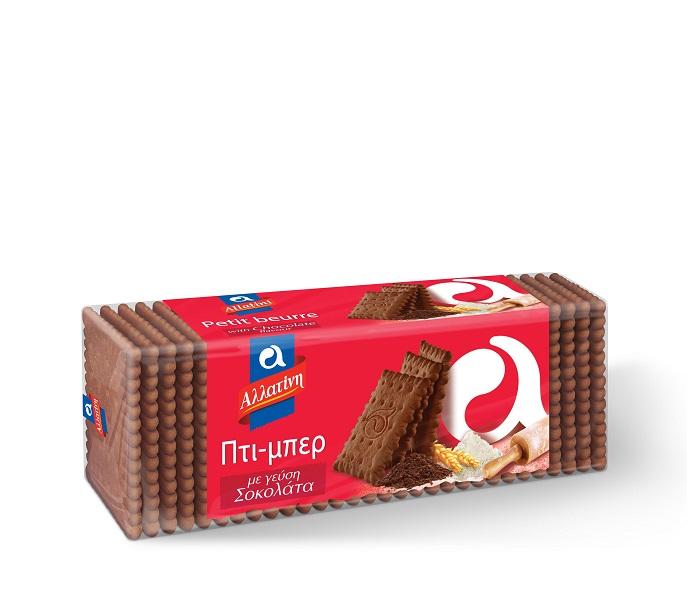 Μπισκότα Πτι Μπερ Σοκολάτας Αλλατίνη (225 g)