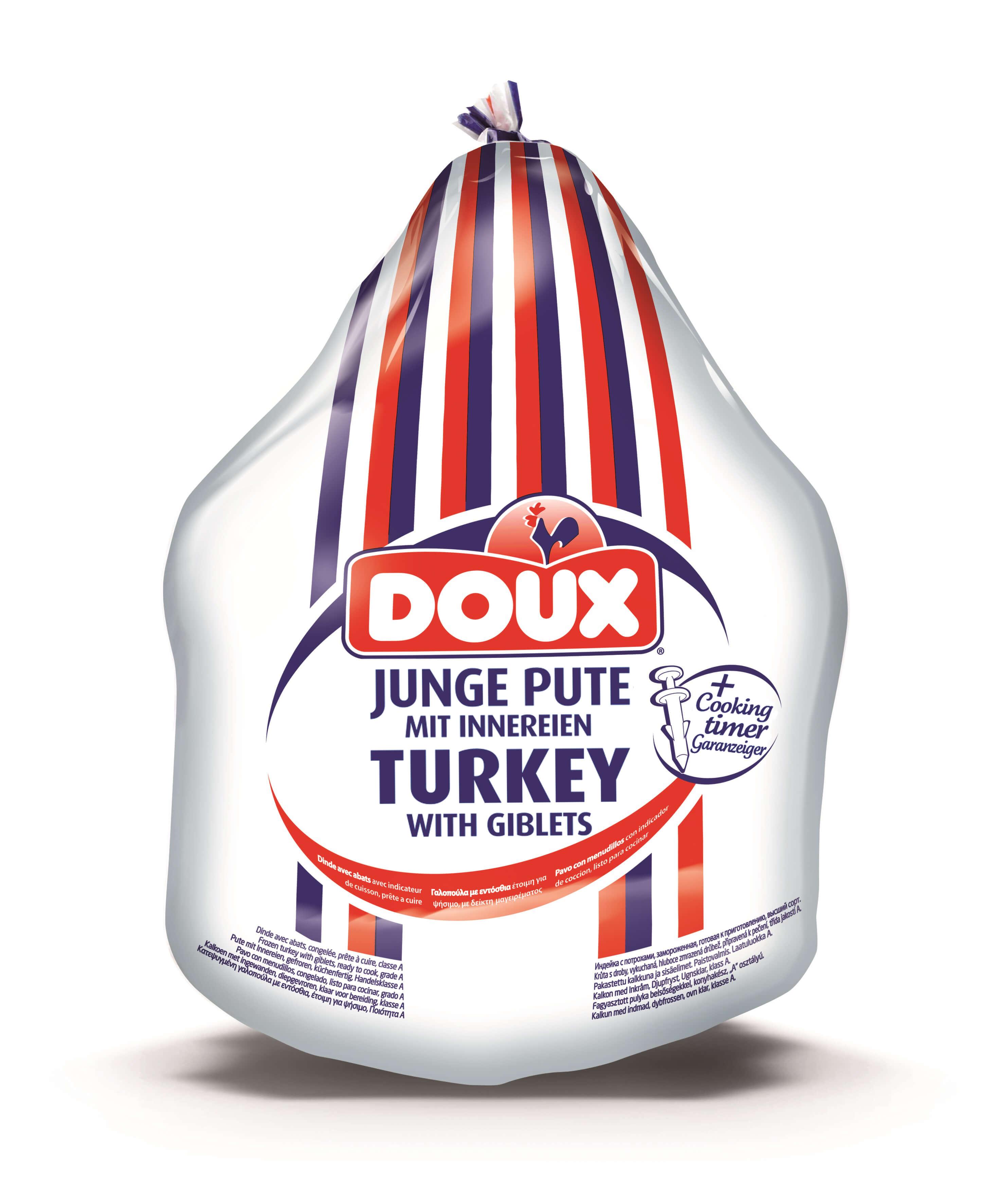 Γαλοπούλα Κατεψυγμένη Γαλλίας με Θερμόμετρο Doux (ελάχιστο βαρος 3 Kg)