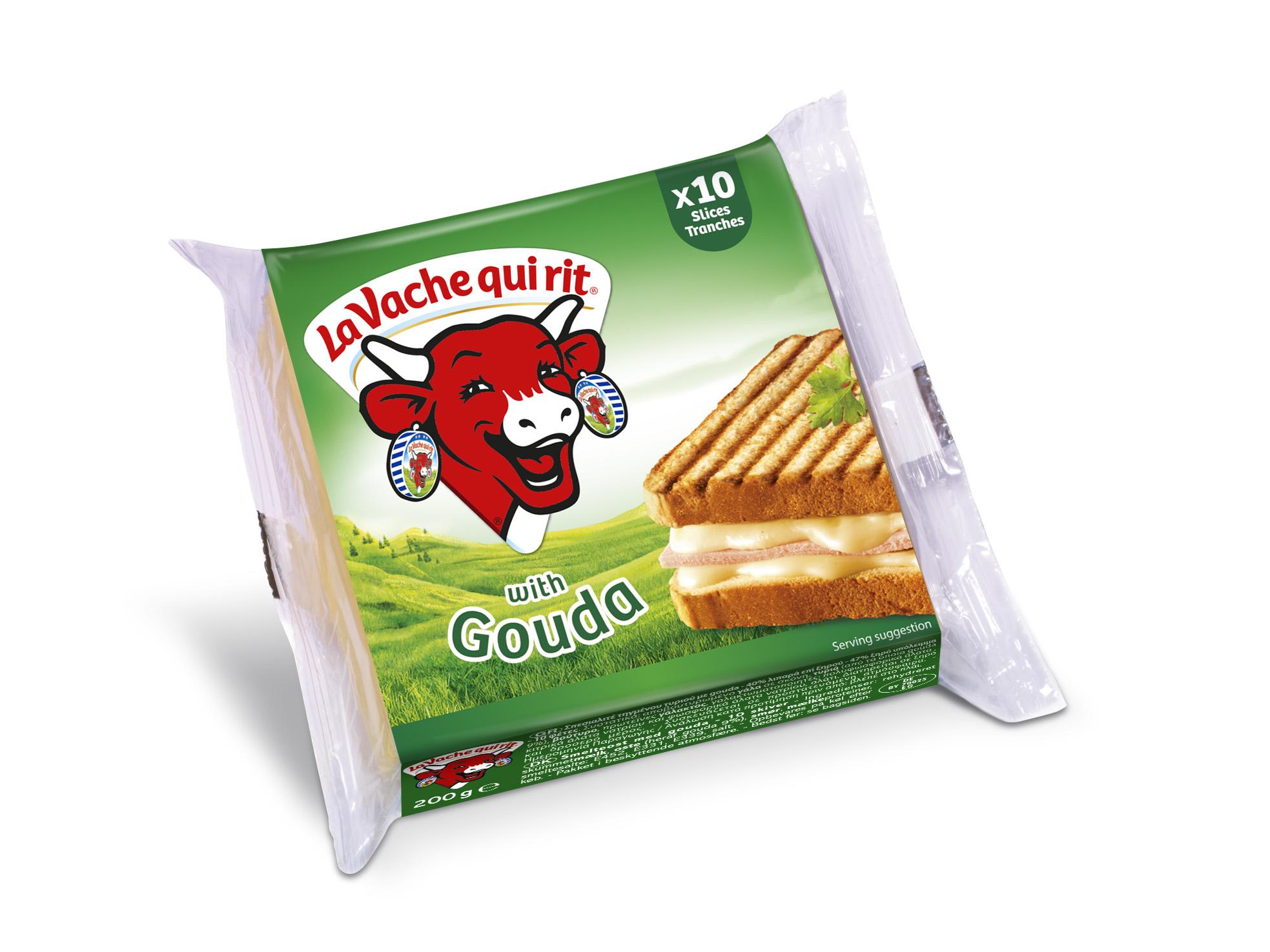 Τυρί Gouda σε φέτες La vache qui rit (200g)