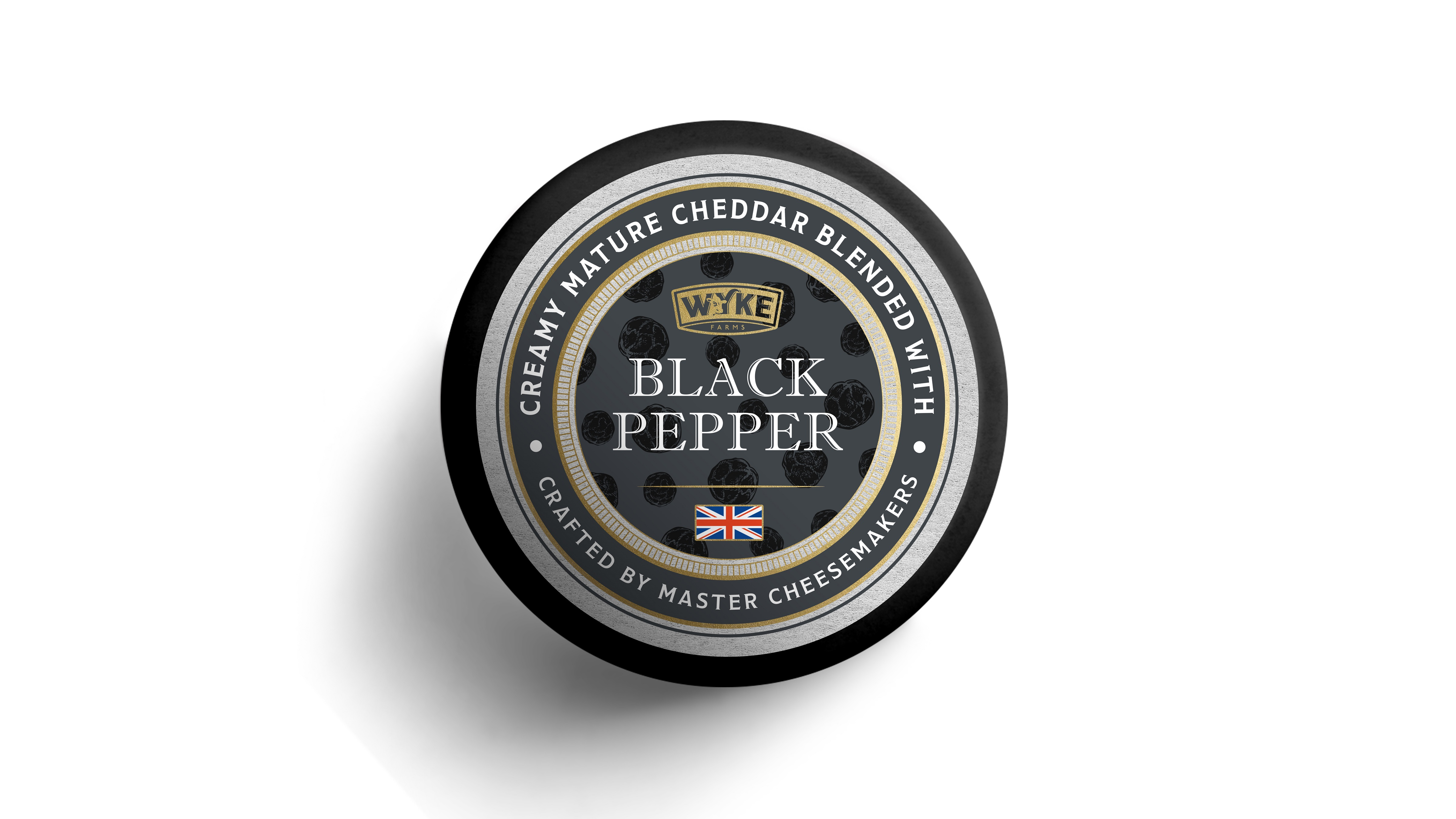 Τυρί Cheddar με Πιπέρι Wyke Farms (100g)