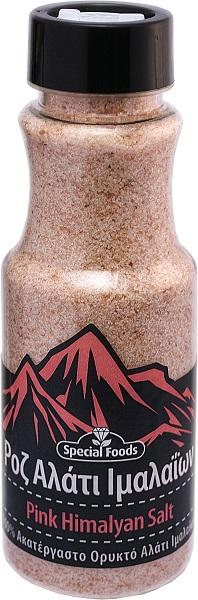 Αλάτι Ροζ Ιμαλαΐων σε Αλατιέρα Special Foods (400g)