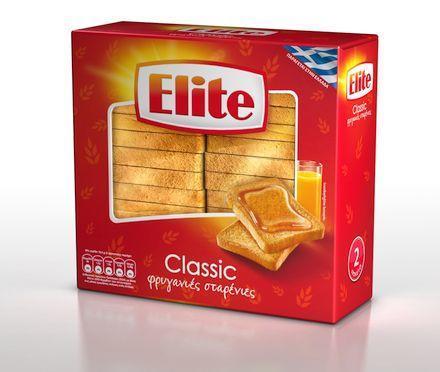 Φρυγανιές Σίτου Elite (250 g)