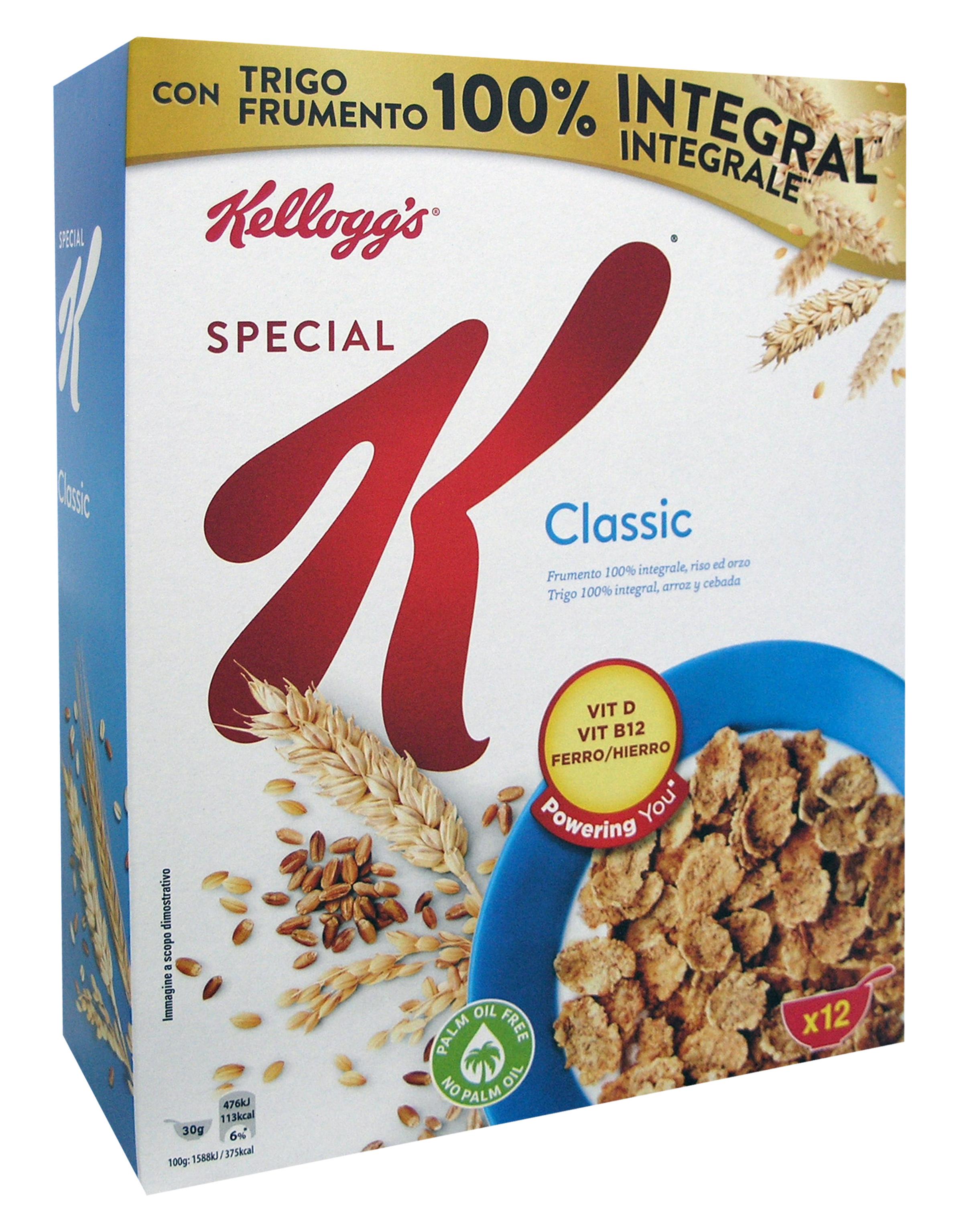 Δημητριακά Special K Classic Kellogg's (375g)