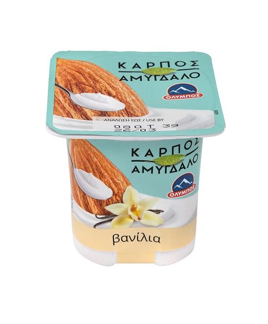 Επιδόρπιο Αμυγδάλου με γεύση Βανίλια Όλυμπος (2x125g)