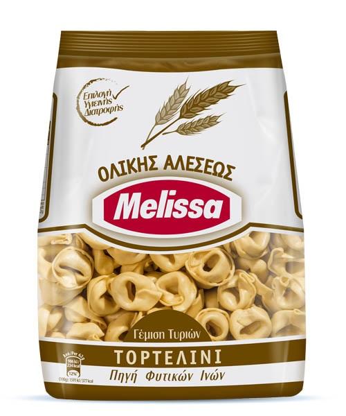 Τορτελίνι Ολικής Άλεσης Melissa (250g)