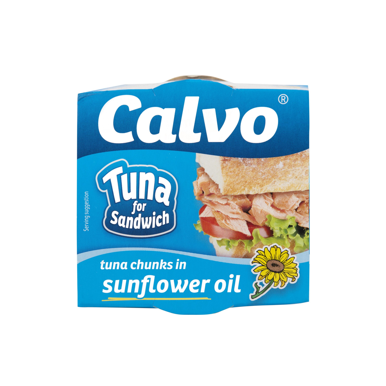 Τόνος για σάντουιτς σε Ηλιέλαιο Calvo (142g)