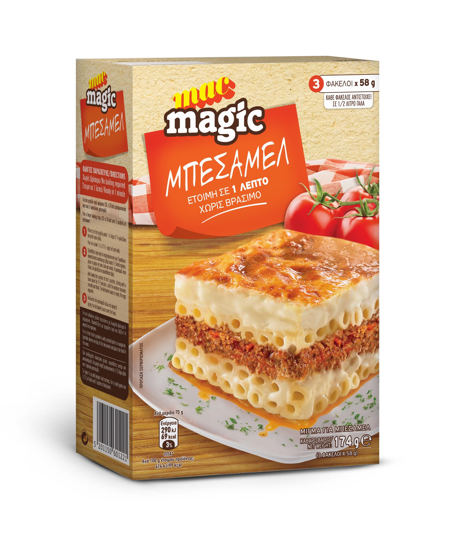 Μπεσαμέλ Mac Magic (174gr)