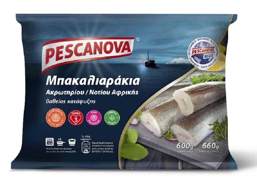 Μπακαλιαράκια Κατεψυγμένα Pescanova (600gr)