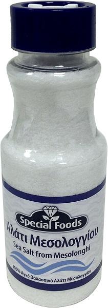 Αλάτι Μεσολογγίου σε Αλατιέρα Special Foods (400g)