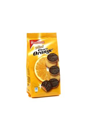 Μπισκότα Choco Orange Mini με Μαρμελάδα Πορτοκαλιού & Σοκολάτας Παπαδοπούλου (100 g)