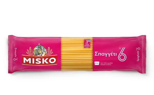 Σπαγγέτι Νο6 Misko (2x500g) τα 2τεμ -0,40€