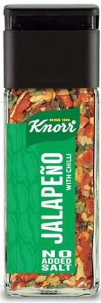 Καυτερή πιπεριά Σκόρδο και Τσίλι Knorr (44gr)