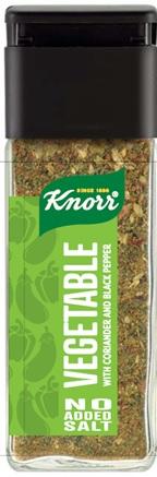 Λαχανικά Κόλιανδρο και Mαύρο Πιπέρι Knorr (37gr)