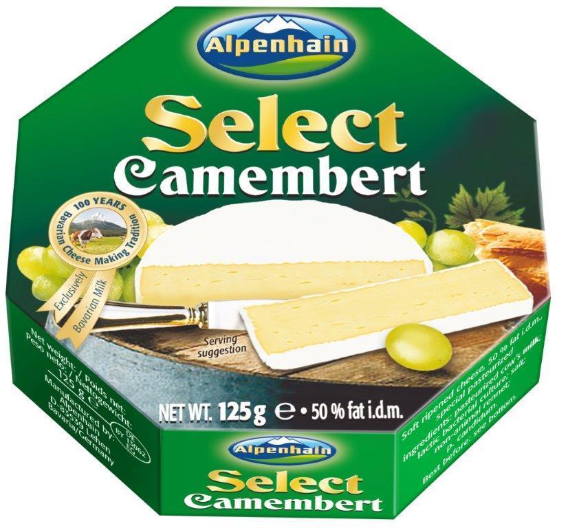 Τυρί Camembert Select Alpenhain (125 g)