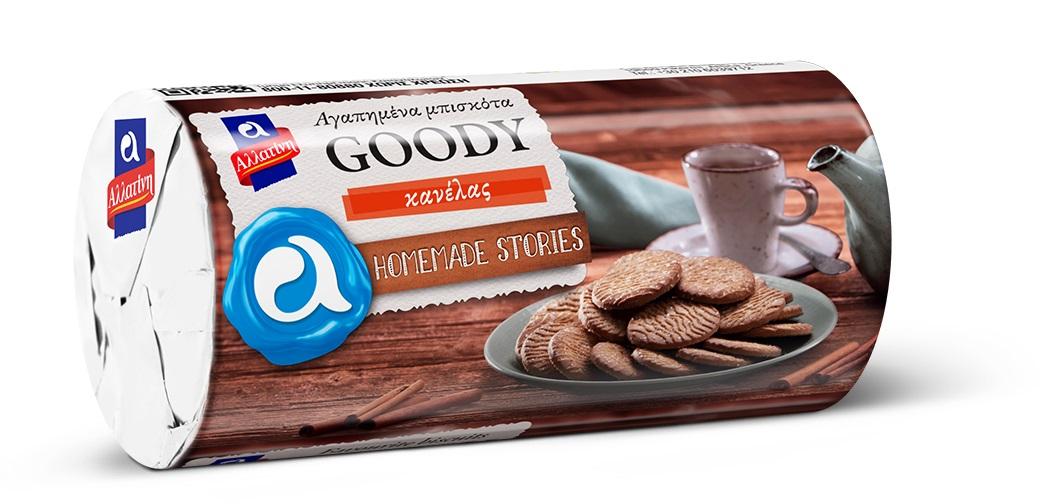 Μπισκότα Goody Κανέλας Αλλατίνη (104 g)