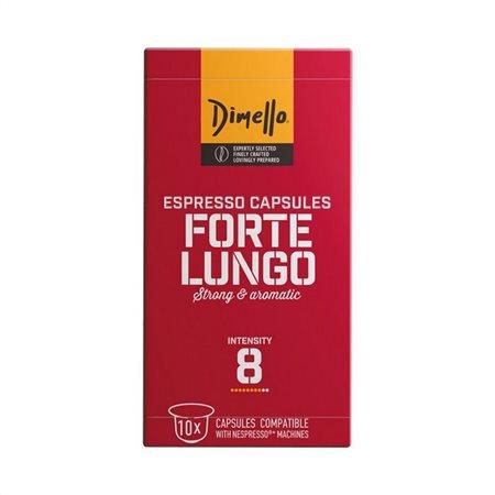 Espresso Κάψουλες Forte Lungo Dimello (10 τεμ)-0,70€