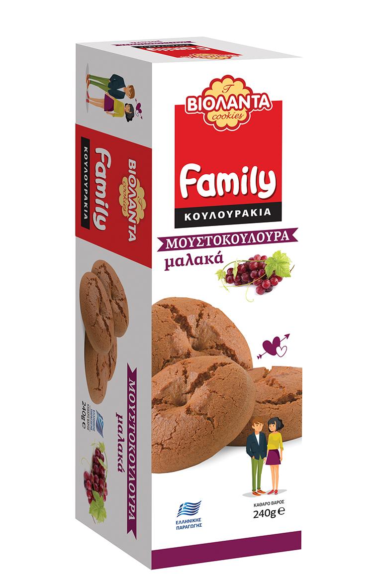 Μουστοκούλουρα Family Βιολάντα (240g)