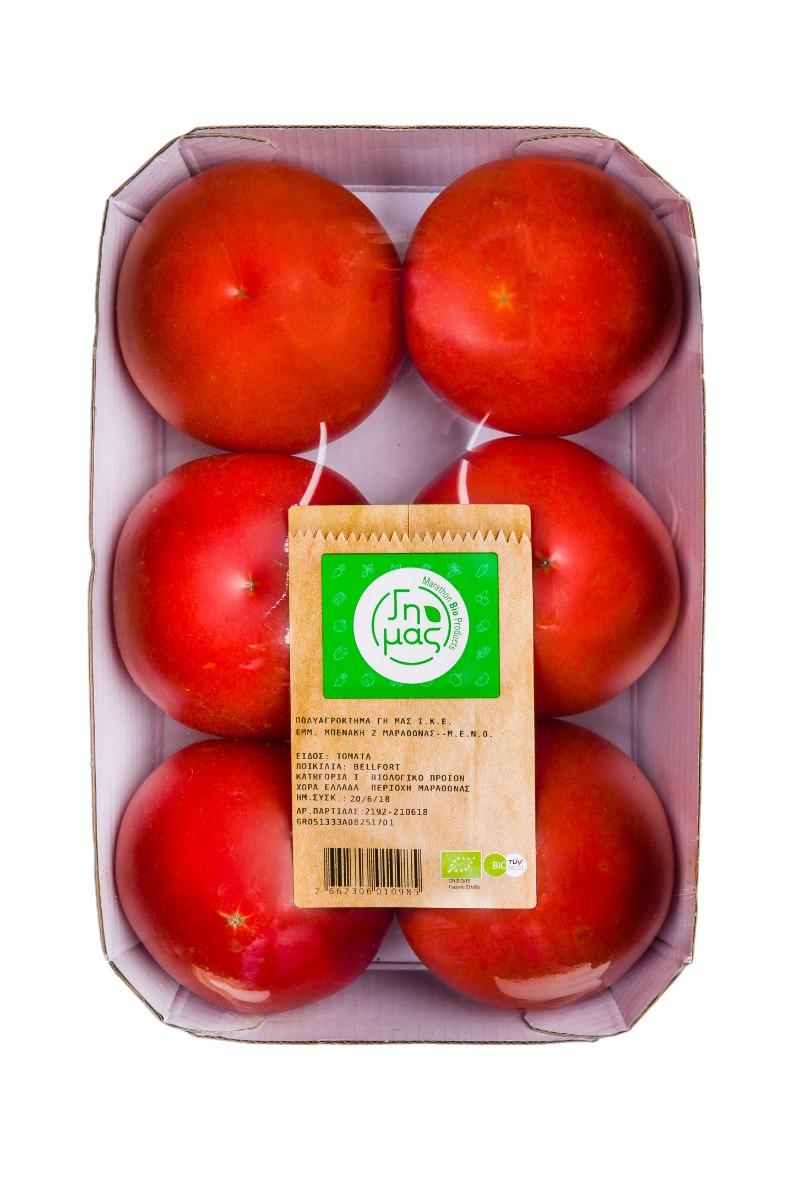 Τομάτες Βιολογικές Ελληνικές (ελάχιστο βάρος 1.6Kg)