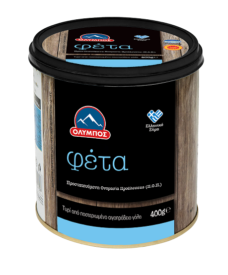 Τυρί Φέτα Π.Ο.Π. Όλυμπος (400g)