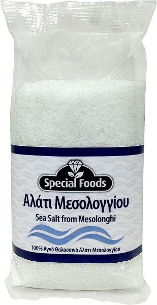 Αλάτι Μεσολογγίου Ψιλό σε Σακουλάκι Special Foods (500g)