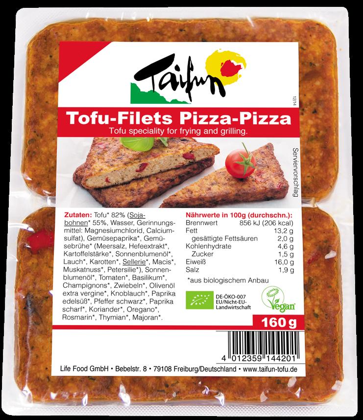 Tofu φιλετίνι πίτσα βιολογικό Taifun (160 g)