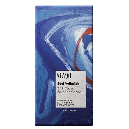 Βιολογική Σοκολάτα Γάλακτος Vivani (100g)