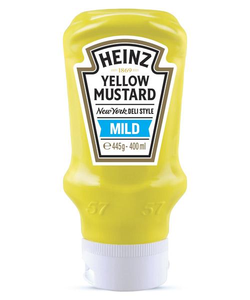 Μουστάρδα Απαλή Heinz (445g)