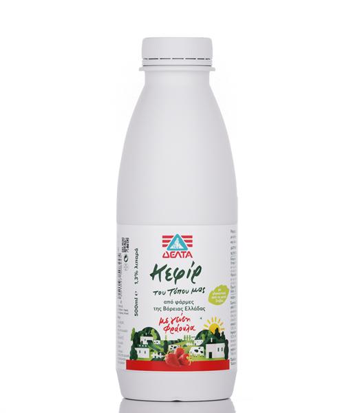 Κεφίρ Φράουλα Του Τόπου Μας Δέλτα (500 ml)