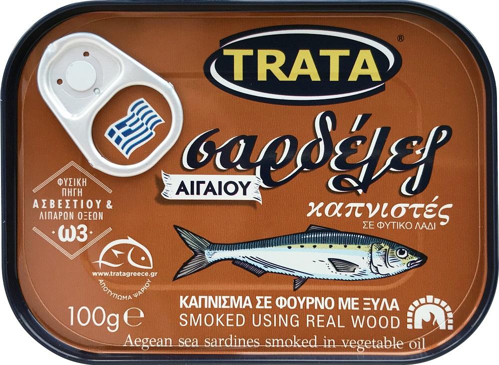 Σαρδέλα καπνιστή σε φούρνο με ξύλα Trata (100 g)