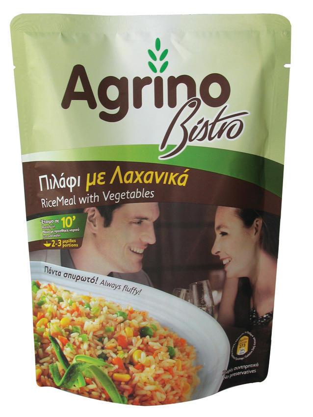 Πιλάφι με Λαχανικά Bistro Agrino (200 g)