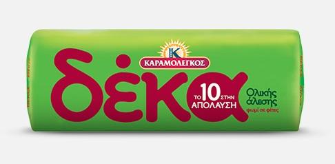 Ψωμί Ολικής Άλεσης Δέκα Καραμολέγκος 16 φέτες (500 g)