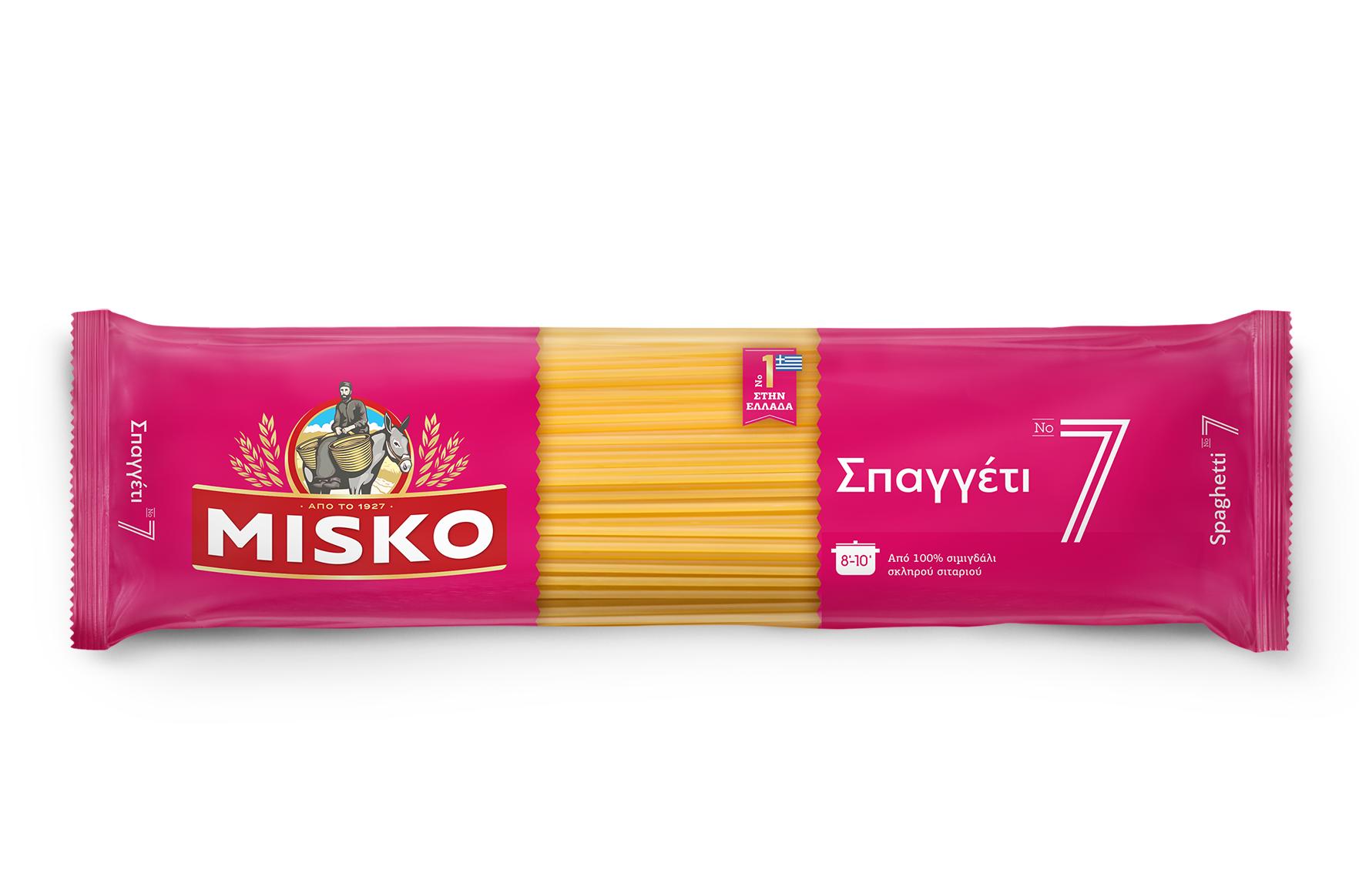 Σπαγγέτι Νο 7 Misko (4x500g) 3+1 Δώρο