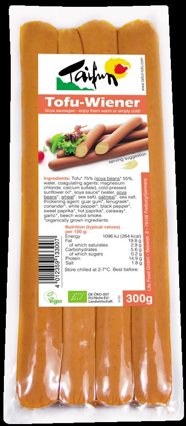 Tofu λουκάνικο βιολογικό Taifun (300 g)