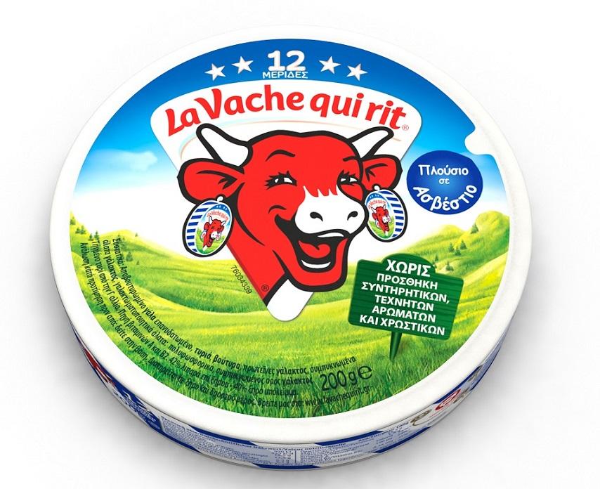 Tρίγωνο τυράκι 12 μερίδες La vache qui rit (200 g)