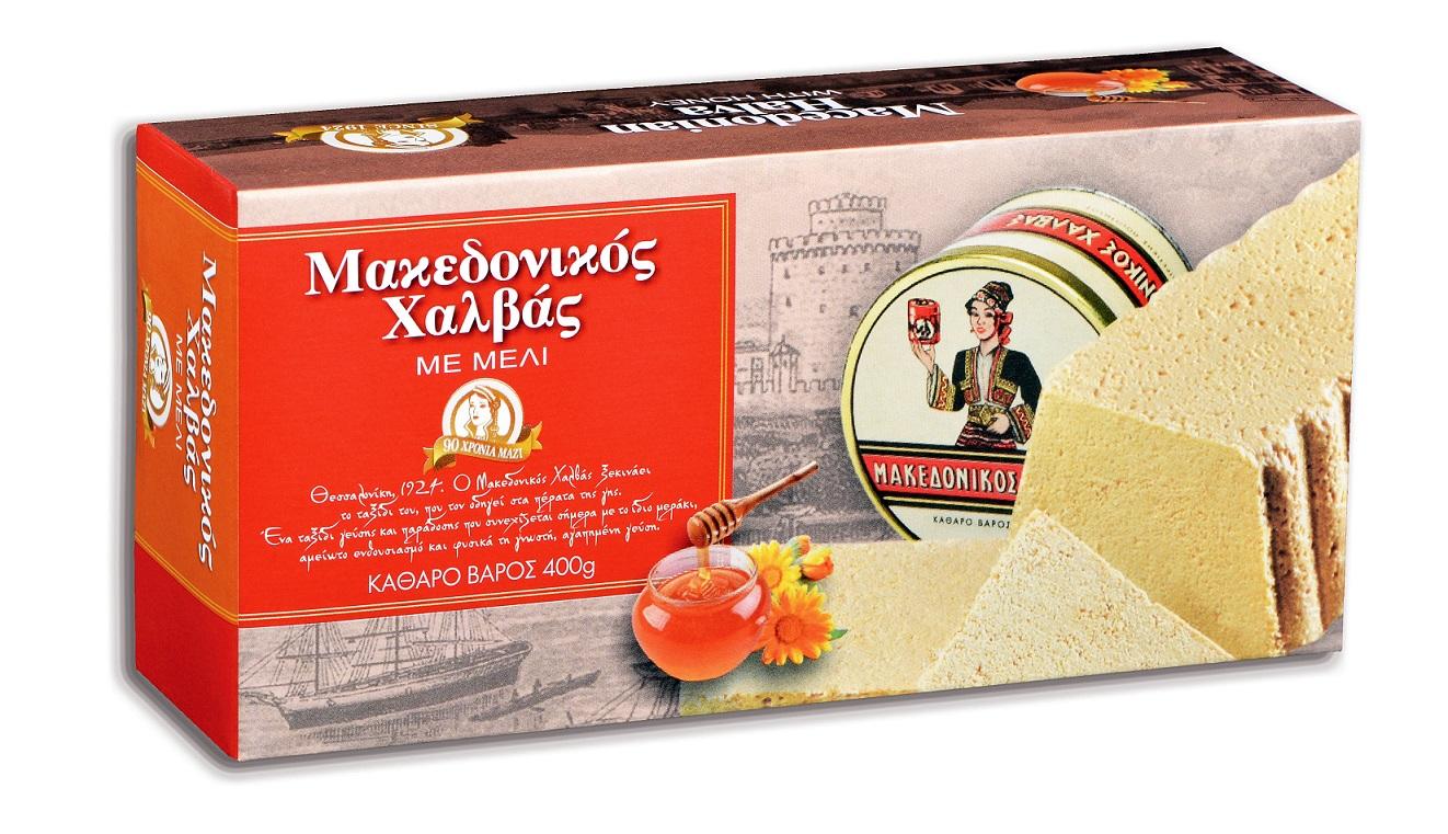 Χαλβάς με Μέλι Μακεδονικός (400 g)