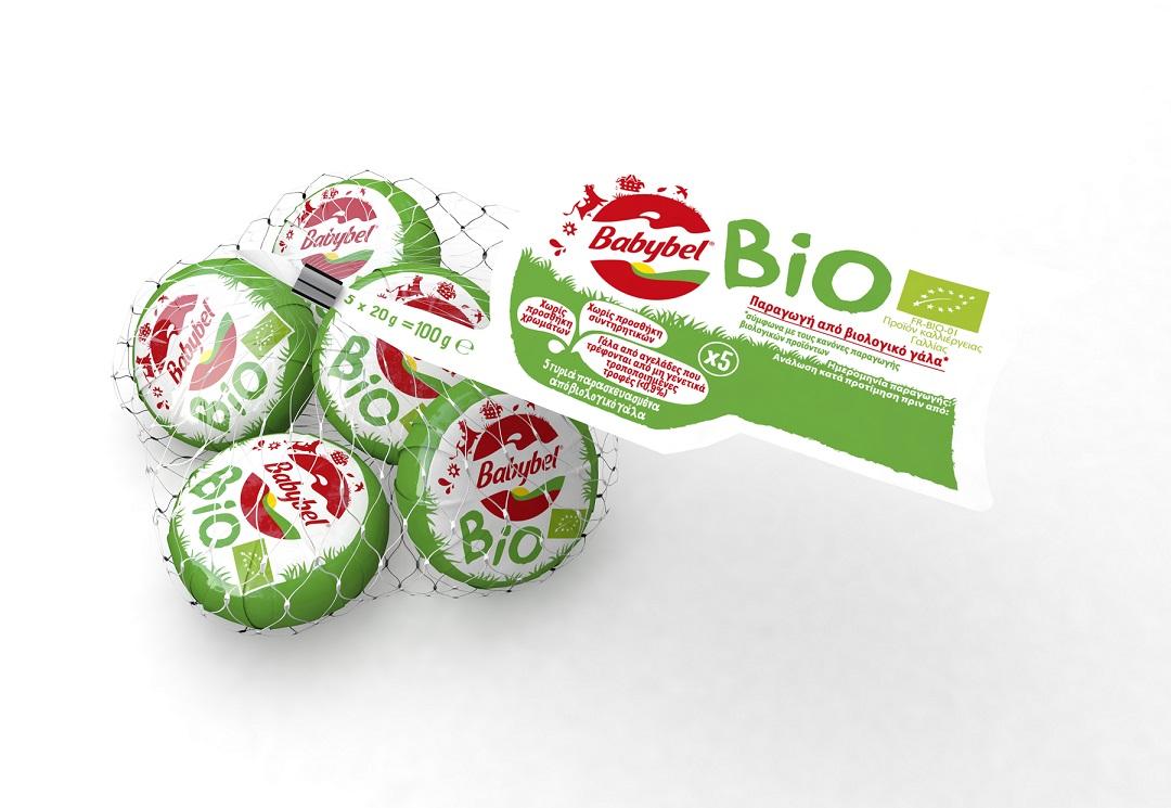 Τυράκια 5 μερίδες Bio Mini Babybel (100 g)