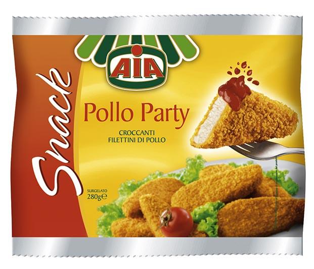 Φιλετίνια Κοτόπουλου πανέ κατεψυγμένα ΑΙΑ (280g)
