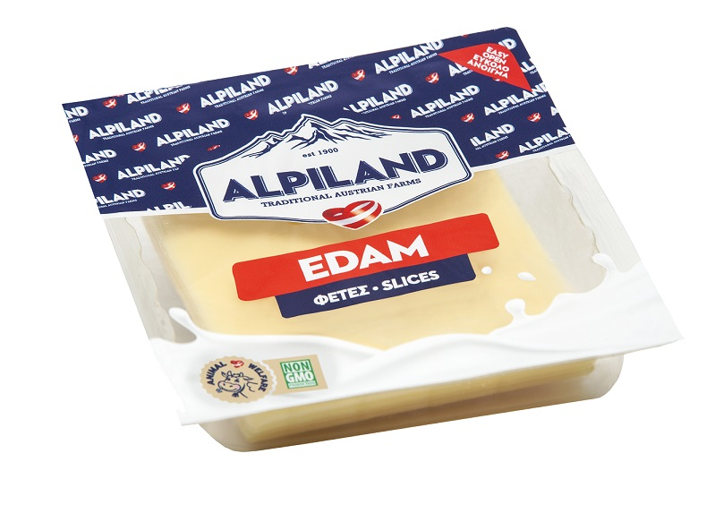 Τυρί Edam σε Φέτες Alpiland (200g)