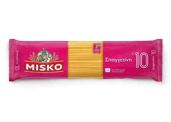 Σπαγγετίνι Νο10 Misko (2x500g) τα 2τεμ -0,40€