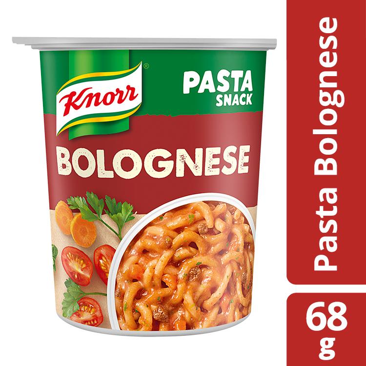 Ζυμαρικά με Σάλτσα Μπολονέζ Snack Pot Knorr (2x68g)τα 2 τεμ -30%