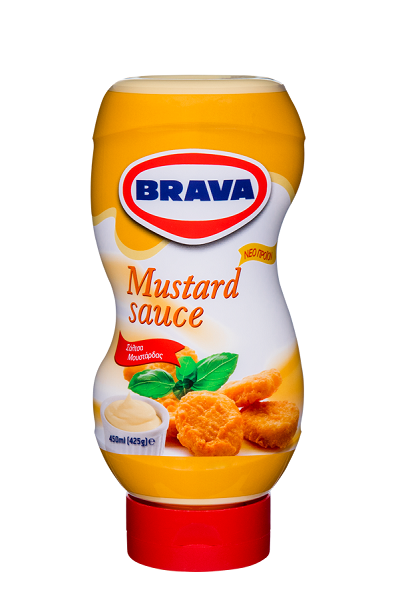 Σάλτσα Μουστάρδας με Μαγιονέζα Brava (450 ml)