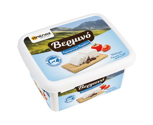Λευκό Τυρί Βερμινό σε τάπερ Μπέλας (360g)