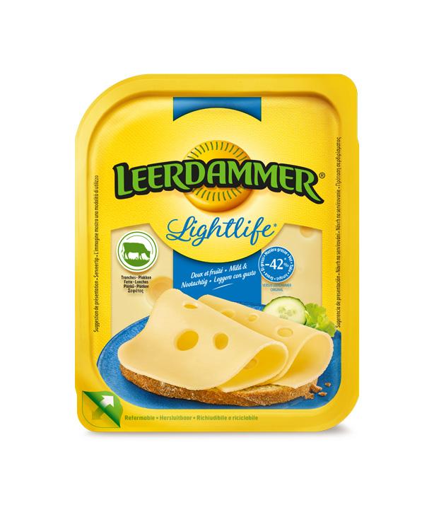 Τυρί σε φέτες light Leerdammer (175 g) -0,10€